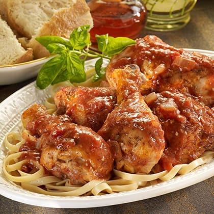 Baked Chicken Cacciatore Thumbnail