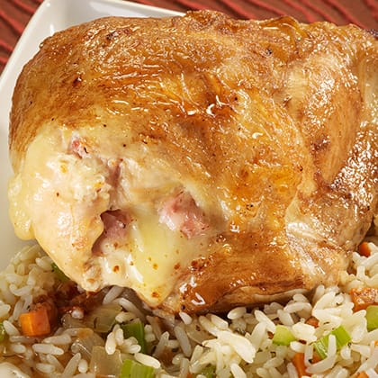 Chicken Skillet Cordon Bleu Thumbnail
