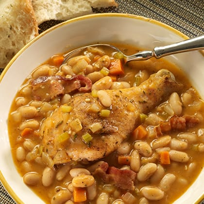 Chicken and White Bean Stew Thumbnail