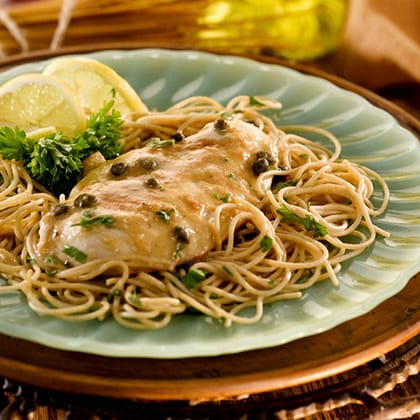 Healthy Chicken Piccata Thumbnail