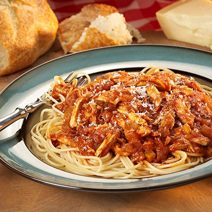 Red Chicken Spaghetti Thumbnail