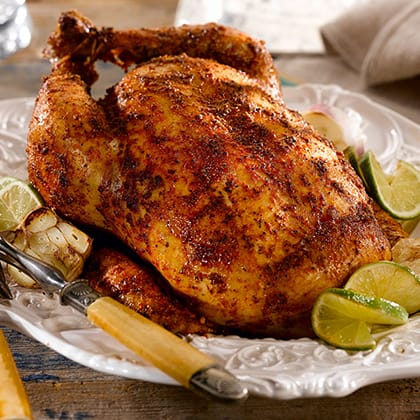 Roast Chicken with Garlic and Lime Thumbnail
